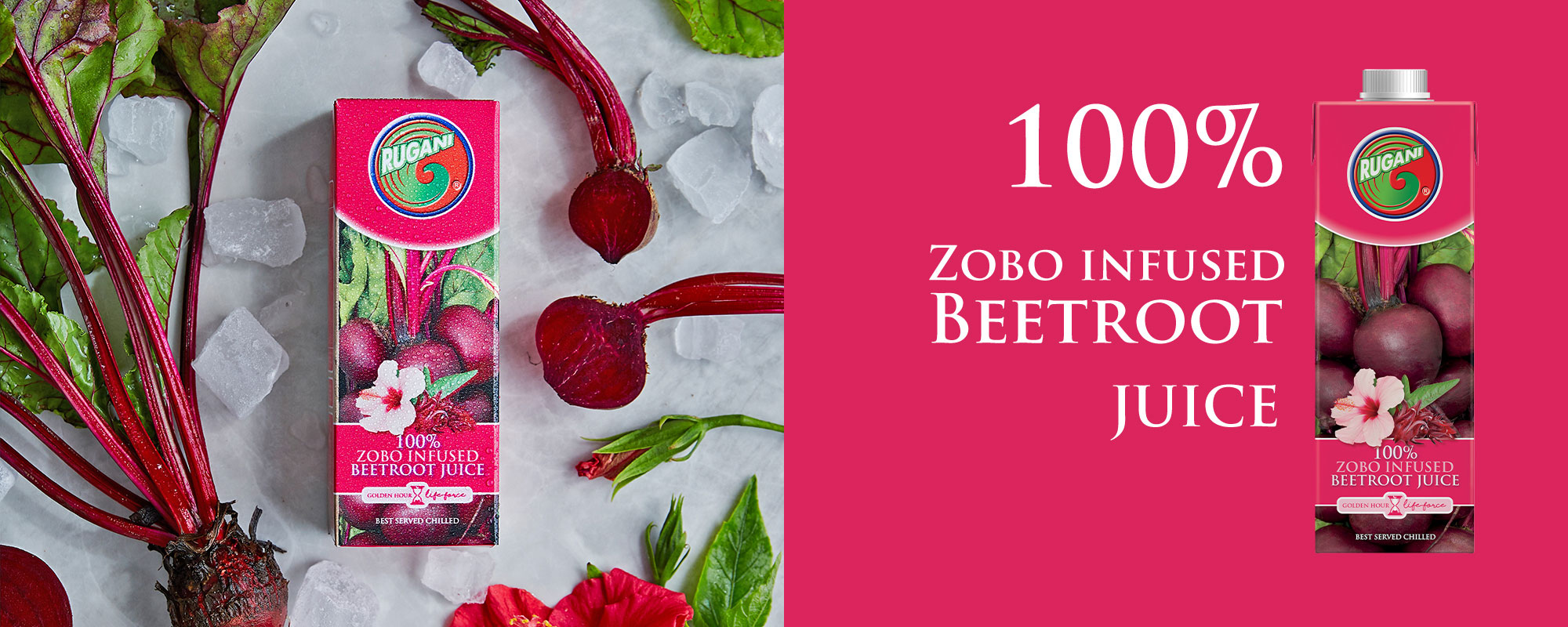 100% Zobo Infused Beetroot Juice